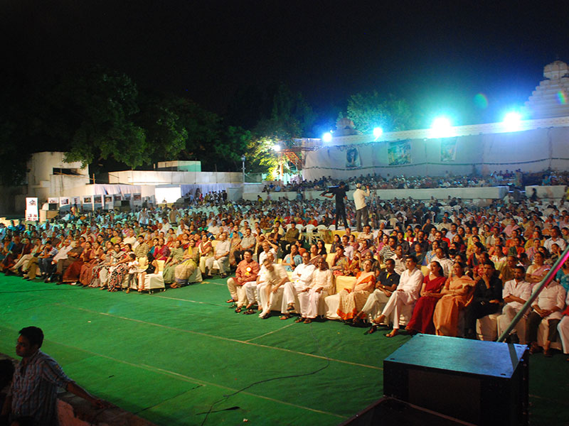 Audience at the Lalit Kala Thoranam, Hyderabad