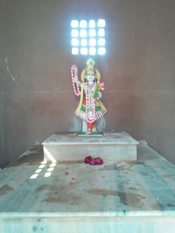 Deity of Yamuna Devi at Koiley Ghat