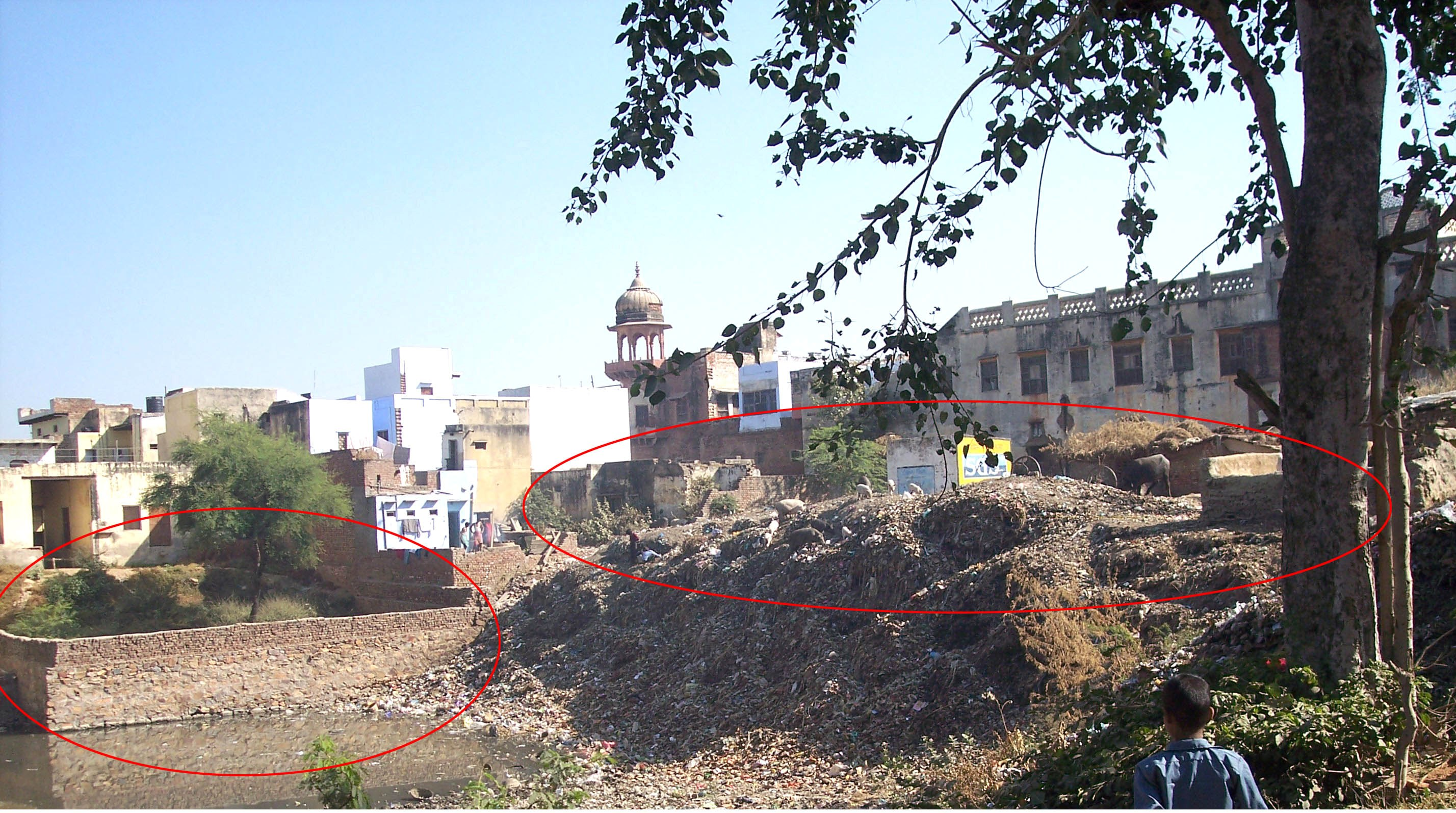 Rudra Kund before restoration