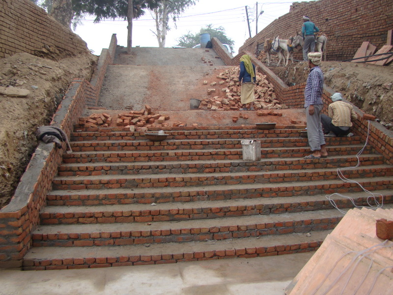 Construction of stairs