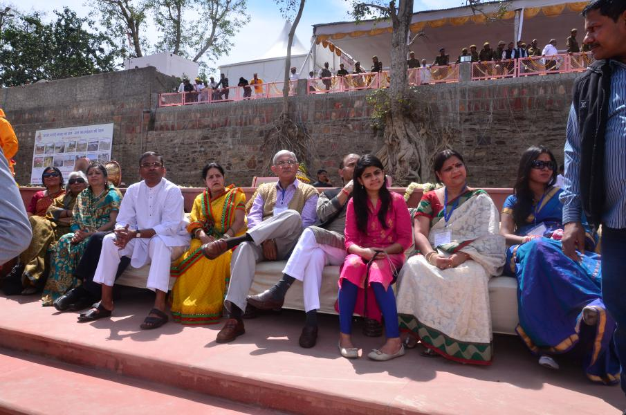 Guests at Rudra Kund