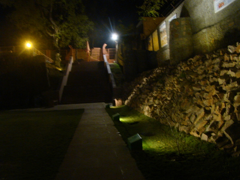 Rudra Kund at night