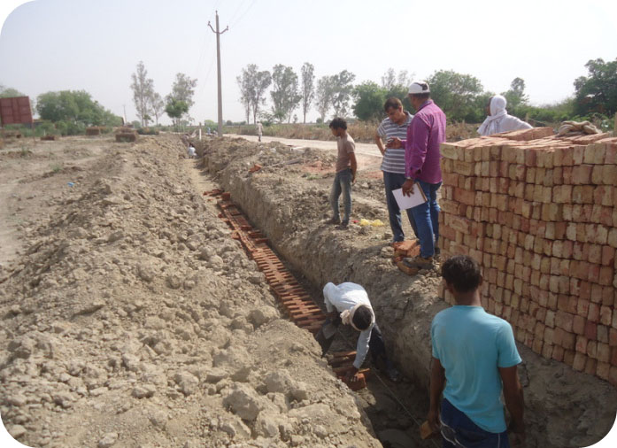Boundary wall work