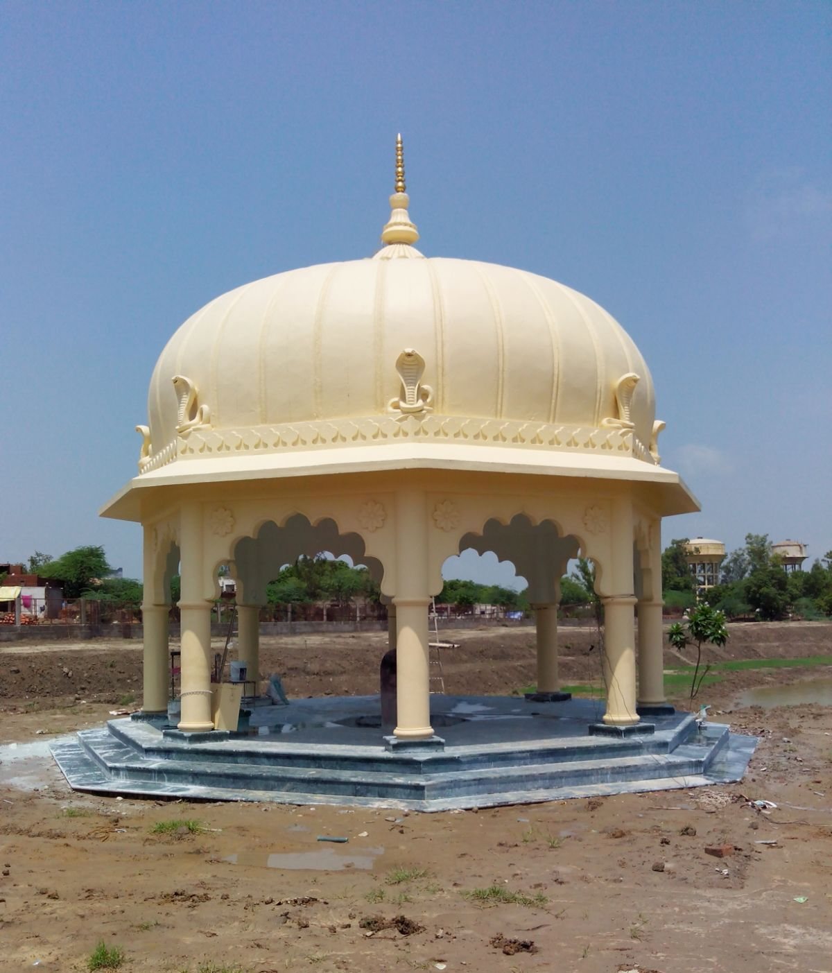 Restoration of Kaliya Nag Temple