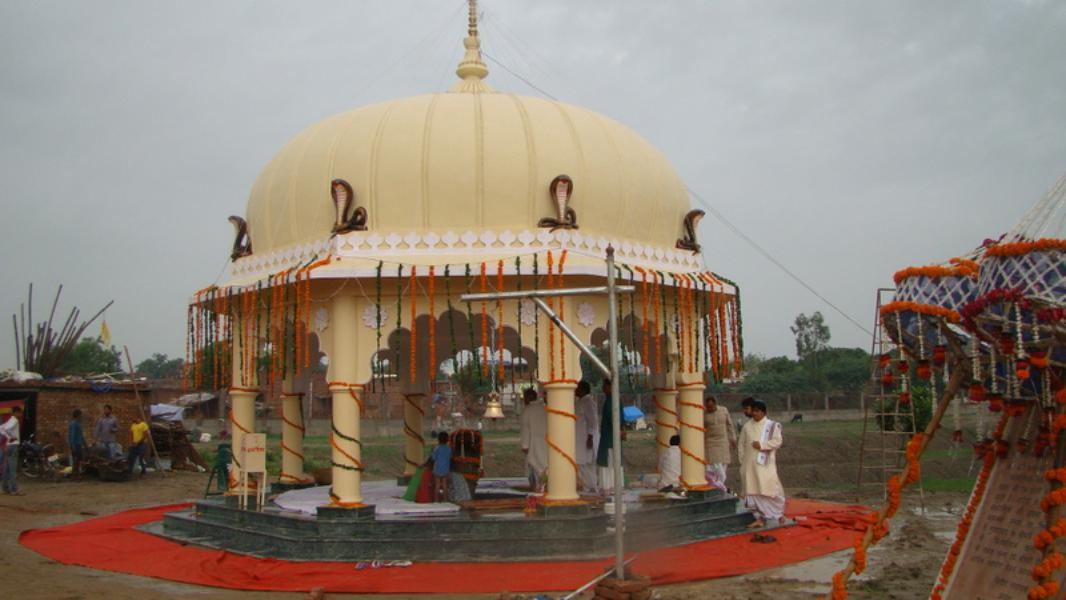 Inauguration of Kaliya Nag temple