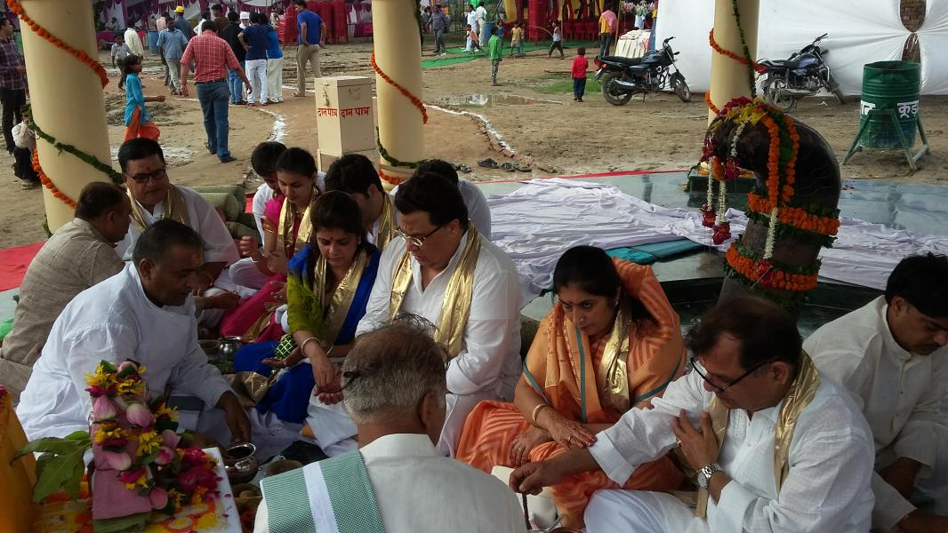 Donors at the Inauguration of Kaliya Nag temple