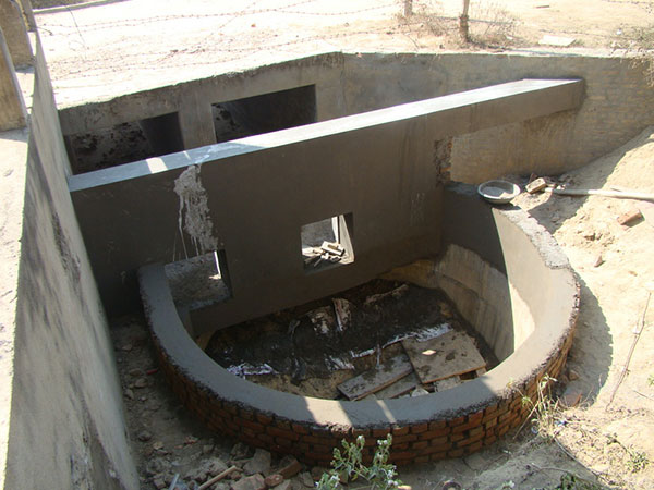 Construction of Water Harvesting Plant