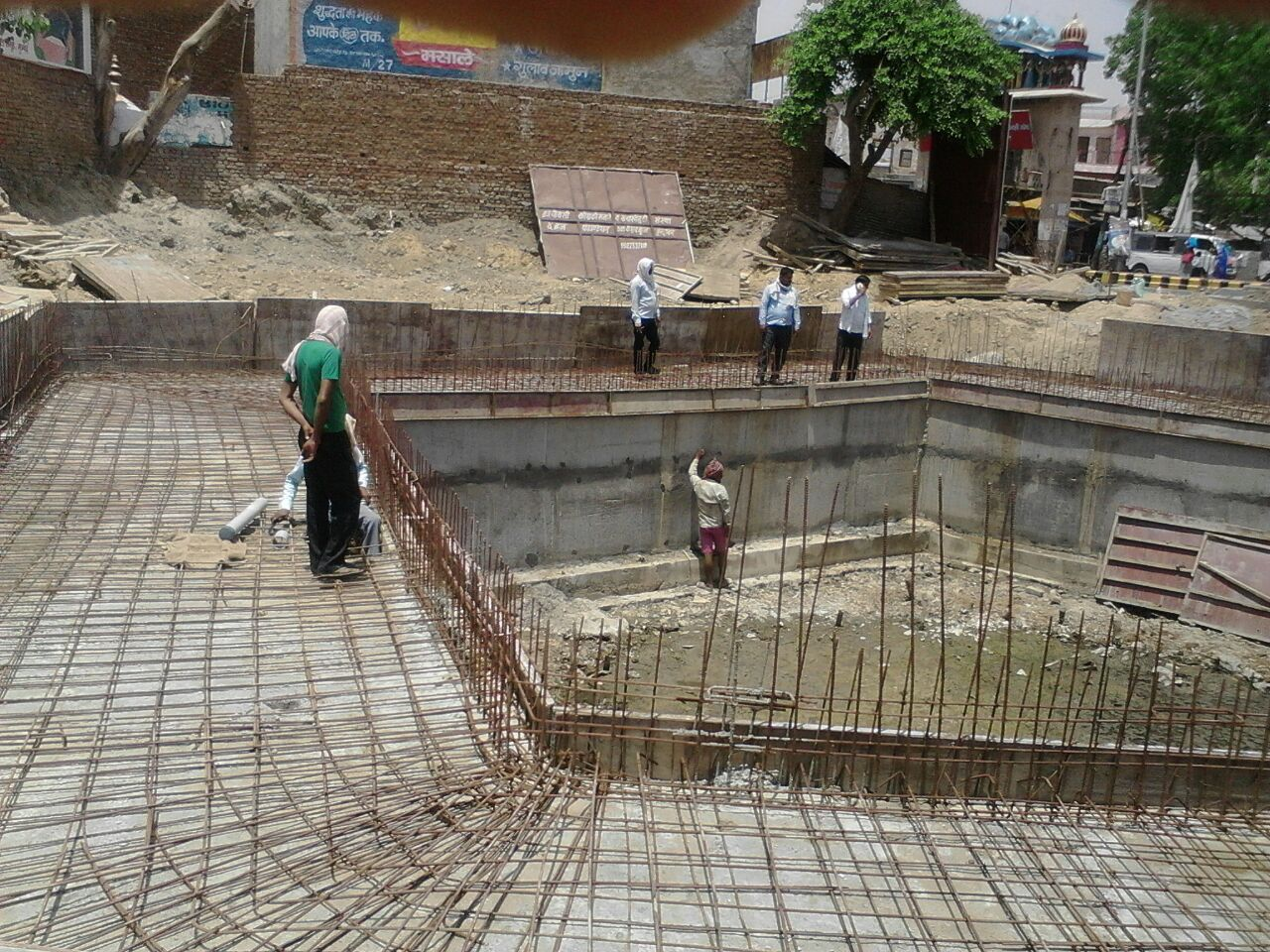 Development of Toe wall