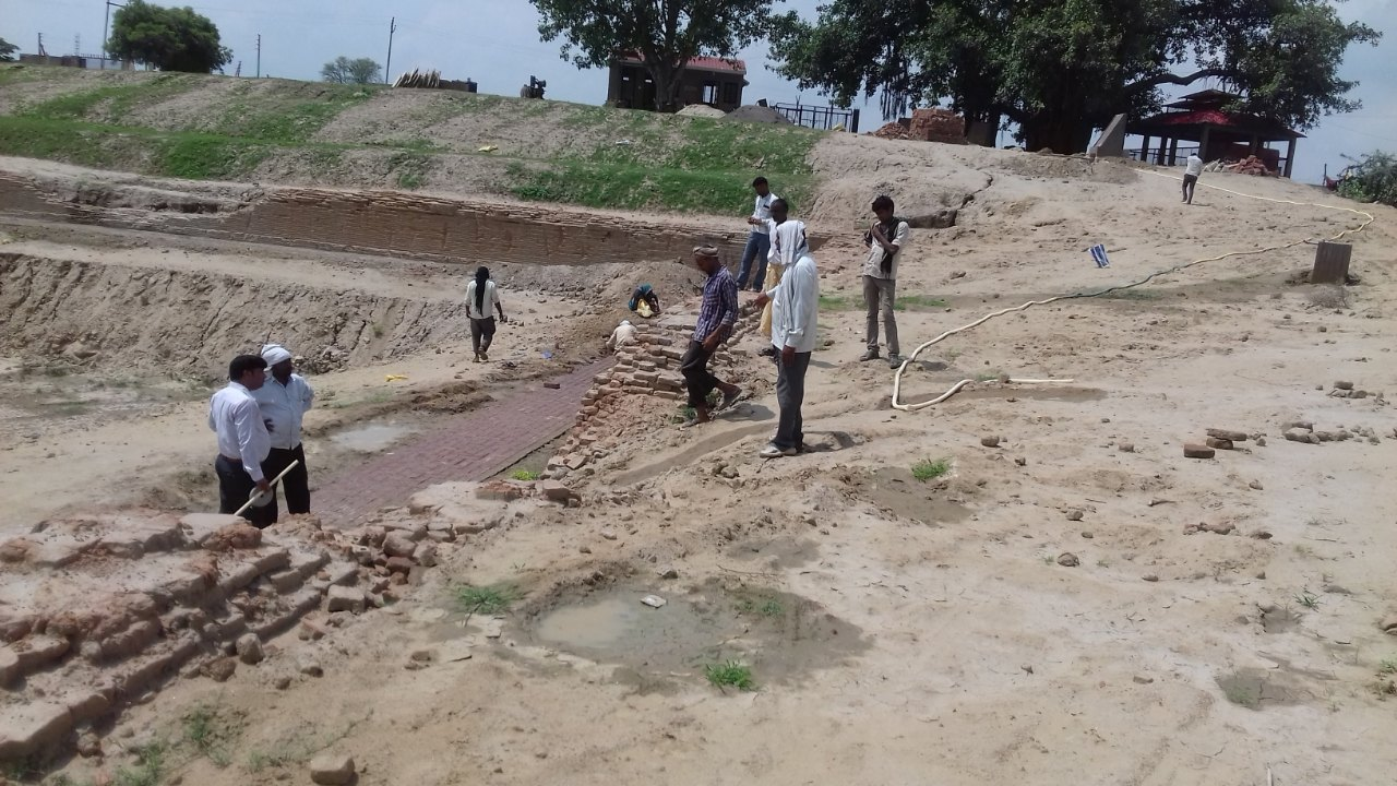 Construction of Pathway around Ram Taal
