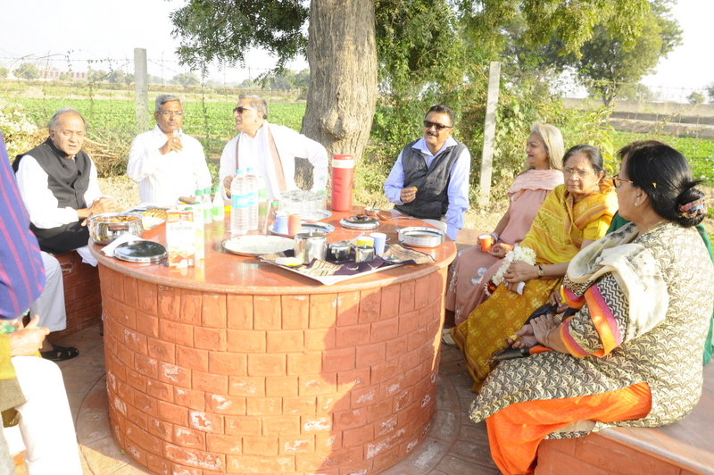 Distinguished guests at Ram Taal