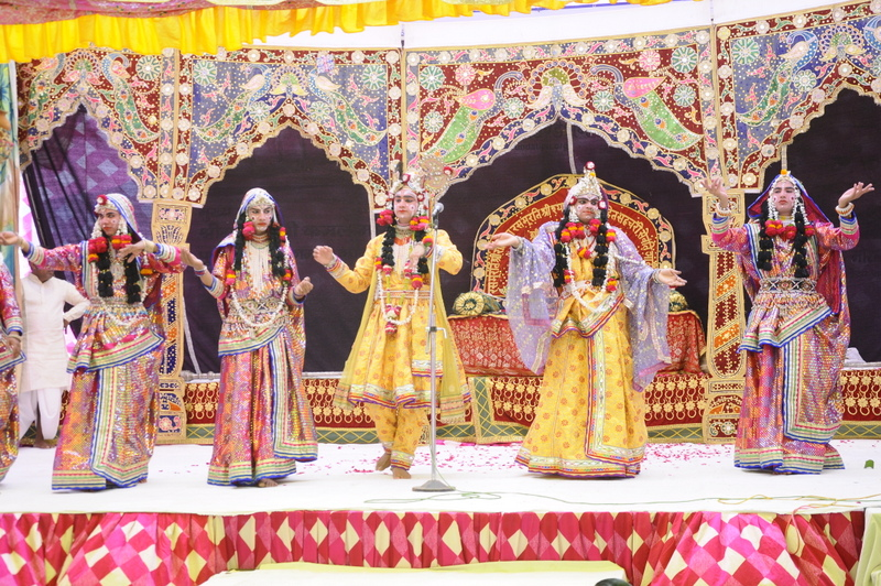 Cultural programme at Ram Taal