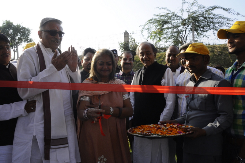 Smt. Bharati Morarka inaugurating the Kund