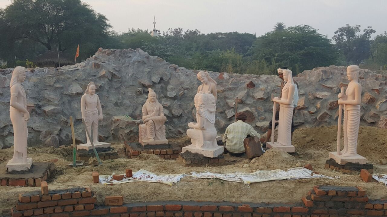 Construction of diorama
